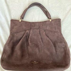 Purple suede Kate Spade bag